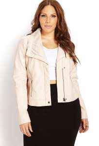 city chic leather jacket forever21