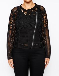 Exclusive premium lace jacket ASOS