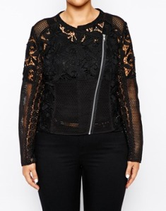 Exclusive premium lace jacket ASOS