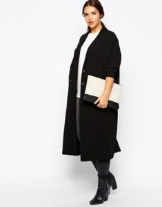 Longline duster jacket ASOS